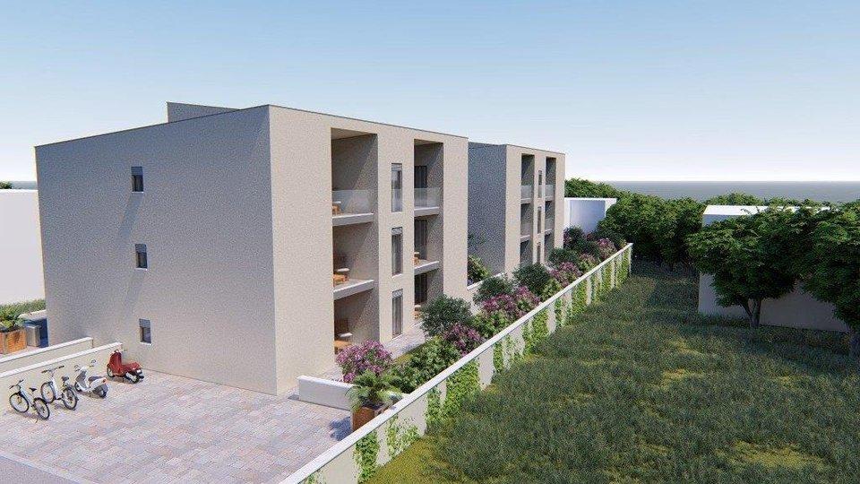Apartment mit zwei Schlafzimmern und offenem Meerblick