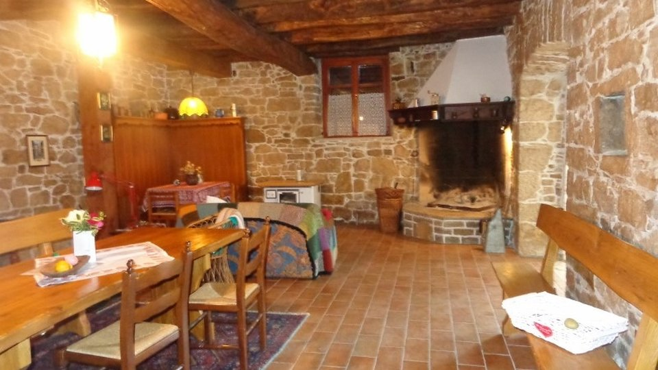 Kamena Istarska kuća na selu