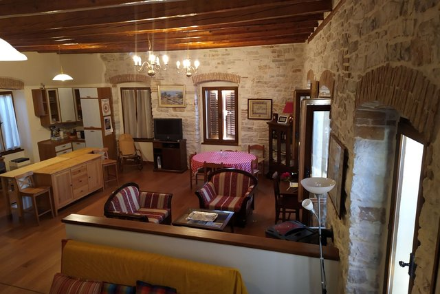 Novigrad - luxury apartment with open sea view
